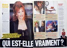 Mag 2005: MYLENE FARMER_RAPHAEL et MELANIE THIERRY_VINCENT LINDON_HELMUT BERGER