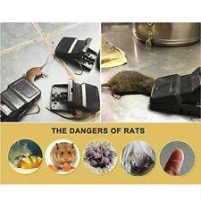 6 Pack Snap Trap Mouse Rat Hunting Catcher Survival Pest Control Rodent Killer