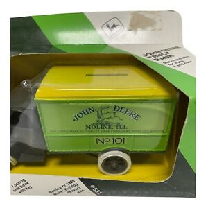 Ertl John Deere 1/25 Scale New in Box: 1926 Mack Bulldog Delivery Van Truck Bank
