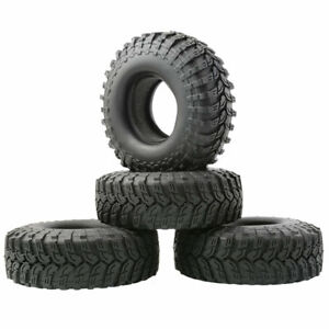 R/C 114mm Rubber 1.9 inch Cimbing Tires w/Sponge (4) For 1/10 Rock Crawler T2020