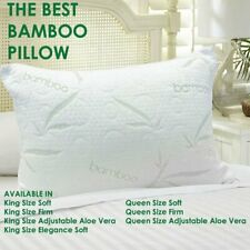 The Best Bamboo Pillow (King-Soft)