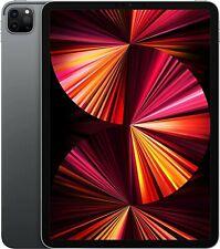 Apple iPad Pro 3rd Gen (2021) - M1 - 128GB, Wi-Fi, 11 in - Space Grey - Warranty