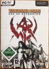 Warhammer Online: Age Of Reckoning (PC, 2008, DVD-Box)