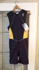 QuikWik TYR Multi-Sport  Pad Swim Bike Run Sleeveless One Piece Triathlon Med