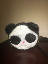 Very Cute BETSEY JOHNSON PANDA BEAR CROSSBODY BAG - NWT