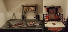 HUGE WWE WWF RAW Wrestling Ring and Various Steel Cage / Ring Acc. + ROCK & CENA
