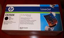 GENUINE HP CE250X Black Toner Cartrige Color LaserJet CP3525 JAPAN 504