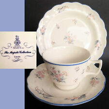 Royal Doulton 1983 The Majestic Collection Lincoln TC1146 Vintage China Trio Set