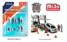 American Diorama Set 1/64 Team Transporter Crew   (Carton)