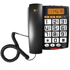 Telefono Con Tasti Grandi Per Anziani Analogico Acustico Display LCD TS-6651