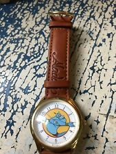Disney Aladdin Limited Edition GENIE Wrist Watch Collector's Club