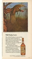1973 Wild Turkey Whiskey Advertisement