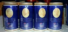 Collectable beer cans -  4 Official Sponsor of Australian Olympic Team cans