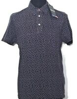 BLAUER USA Herren Polo Shirt blau weiß blue white blu bianco Sterne NEU Etikett!