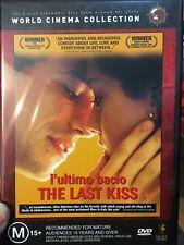 The Last Kiss (L'ultimo Bacio) region 4 DVD (2001 Italian drama movie)