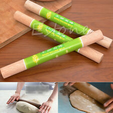 Practical Wood Wooden Rolling Pin Cake Decorating Dough Rollers Baking Tools