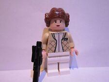 Lego Star Wars PRINCESS LEIA (Hoth) minifigure lot 4504 6212 100% REAL LEGO