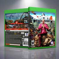Far Cry 4 Limited Edition - Replacement Xbox One XB1 Cover and Case. NO GAME!!