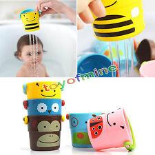 Skip hop zoo stack & pour bain seaux-kids bathtime fun play garçons filles-neuf