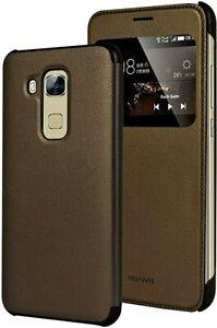 Huawei Nova Plus Luxury Folio Moon View Case in Bronze