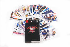 Fate Stay Night Saber Playing Card Deck Poker Toy New