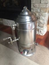 Antique The Dwight R Judson Com Coffee Brewer Stainless Steel Hard to Find