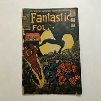 Fantastic Four #52 Silver Age Marvel Comic Book 1st App Black Panther T'Challa