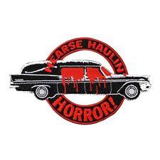 "Funeral Racer ""Hearse Haulin Horror!"" Patch Kreepsville Coach Iron-On Applique"