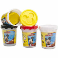 Plastilina Disney Mickey Mouse Niños 4 Frascos Pasta Modelado Colorido 2743