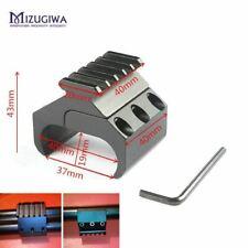 Tactical Hunting Swivel Converter 20mm Weaver Picatinny Adapter Rail Bipod Flash