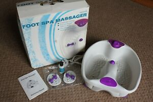 foot Spa Bath Massager with heat, Superdrug 883553