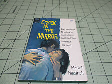 CRACK IN THE MIRROR BY MARCEL HAEDRICH     DELL FIRST EDITION PULP ERA CRIME GGA