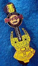 LAS VEGAS MADONNA CONE BUSTIER CORSET GOLDEN YELLOW GUITAR Hard Rock Cafe PIN