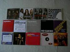 SUGABABES job lot of 14 promo CDs One Touch Get Sexy Shape Easy Ugly Sweet 7