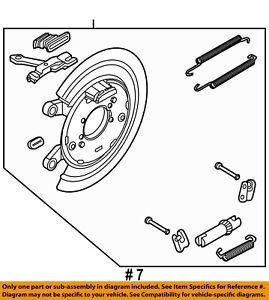 Ram CHRYSLER OEM 13-18 1500 Brake-Rear-Parking Brake 4779823AC