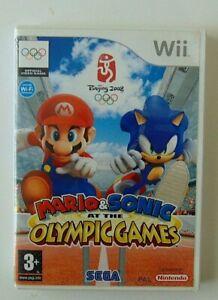mario e sonic ai giochi olimpici wii gioco usato nintendo per bambini italiano