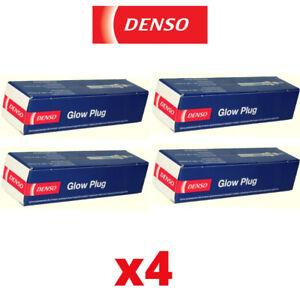 4x Denso Glow Plugs for FORD FIESTA VI 1.5 12->17 CB1 CCN Van
