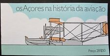 Portugal-Azores 1987 History of Aviation Booklet. MNH.