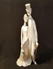 "Lladro ""Old Folks"" #1033 Figurine: Mint in Original Brown Box"