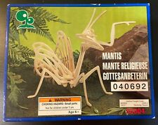 Mantis Wooden Insect Bug Model Craft Kit