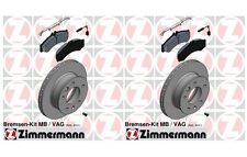 Dodge Freightliner Mercedes Sprinter 3500 DRW Rear Disc Brake Pad and Rotor Kit