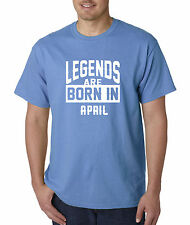 New Way 657 - Unisex T-Shirt Legends Are Born In April Aries Taurus