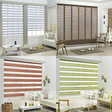 NEW Three Types Roller blind Zebra sheer shade Home Window Custom made to order
