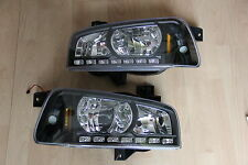Scheinwerfer 2006-2010 Dodge Charger LED DRL Kristall schwarz DOT USA headlamps