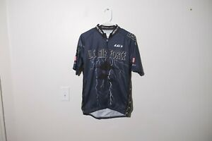 Louis Garneau Air Force cycling team jersey mens size large