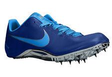 $125 Mens NIKE ZOOM JA FLY Track Running Sprint Shoe 487624 404 Sz 14 ROYAL BLUE