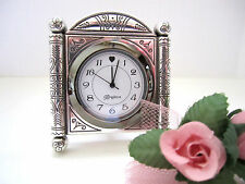 "Brighton ""DESERT PASSAGE"" Desk Clock (MSR$30) NWT/Box & Pouch"
