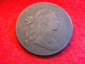 1803 DRAPED BUST LARGE CENT SUPERIOR EARLY AMERICAN CENT!!   #18