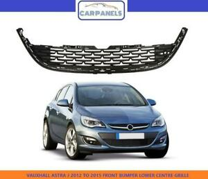 VAUXHALL ASTRA J FRONT BUMPER LOWER CENTRE GRILLE 2012 - 2015 FACE LIFT 1320211