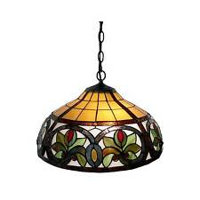 2f89858f307 Stained Glass Hanging Lamps for sale